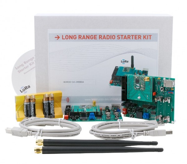 SK-iM881A-M - Starter Kit for iM881A-M